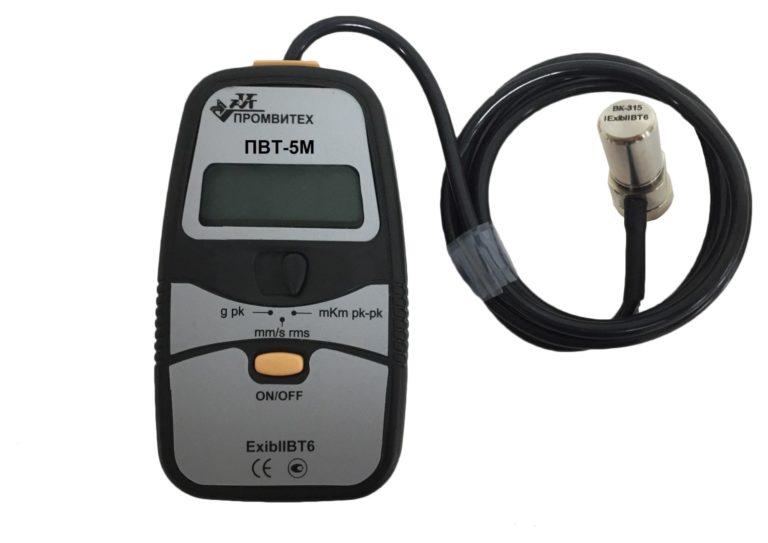 Портативный виброметр ПВТ-5М