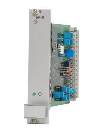 Блок контролю положення регулюючого клапана БК-К